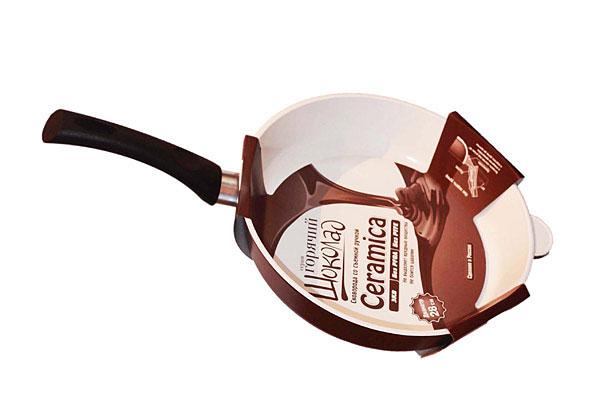 Сковорода 22 литая Гор. Шоколад с керамическим покрытием, Нева металл посуда (12)201122Сковорода 22 литая Гор. Шоколад с керамическим покрытием, Нева металл посуда (12)