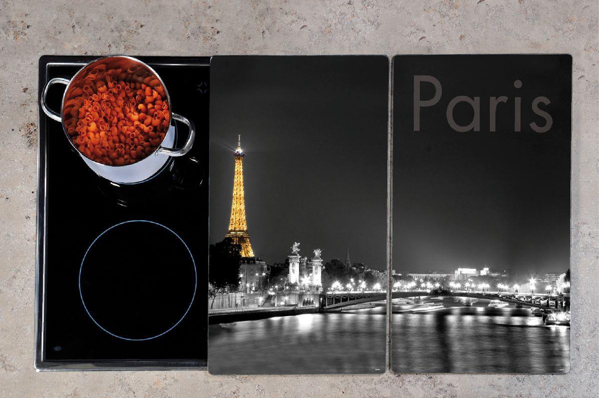 Набор досок разделочных Paris2шт.52х30см., стекло 3652-13652-1Набор досок разделочных Paris2шт.52х30см., стекло 3652-1