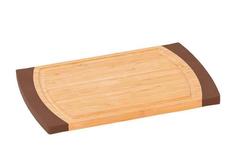 Доска разделочная Kesper, 35 см х 23 см5015-1Разделочная доска Kesper изготовлена из высококачественного бамбука, обладающего антибактериальными свойствами. Бамбук - инновационный материал, идеально подходящий для разделочных досок. Доски из бамбука обладают высокой плотностью, а также устойчивы к механическим воздействиям. Наличие канавки по краю изделия поможет предотвратить вытекание сока от продуктов за пределы доски. Функциональные и простые в использовании, разделочные доски Kesper прекрасно впишутся в интерьер любой кухни и прослужат вам долгие годы. Размер доски: 35 см х 23 см х 1,6 см.