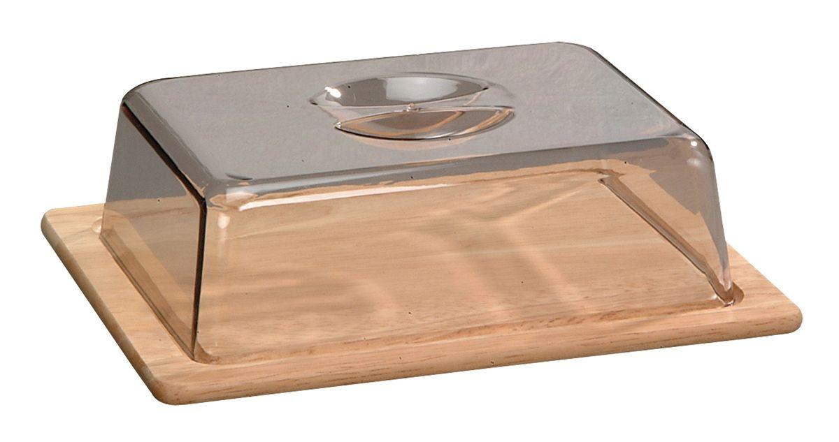 Колпак для хлеба и сыра Kesper, 25,5 см х 20,5 см х 7 см6664-3Колпак Kesper предназначен для хранения хлеба и сыра. Он поможет продуктам дольше оставаться свежими и не заветрится. Основание колпака выполнено из дерева, верх из нетоксичного пластика.