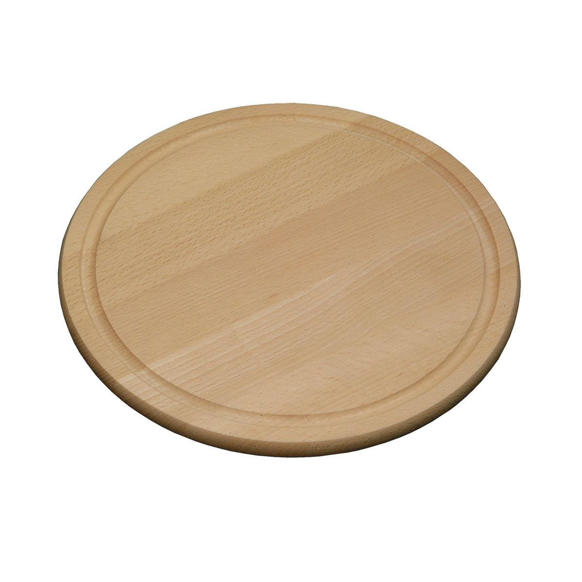 Доска подстановочная круглая, дерево d 25 см6844-2Доска разделочная изготовлена из дерева. Прекрасно подходит для приготовления и сервировки пищи. Всем известно, что на кухне без разделочной доски не обойтись! Ведь во время приготовления пищи мы то и дело что-то режем. Поэтому разделочная доска должна быть изготовлена из прочного и экологически чистого материала, ведь с ней соприкасается наша пища. Толщина -1,5 см, высота бортика -0,5 см, внутренний диаметр - 20 см