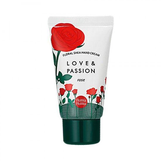 Holika Holika Питательный крем для рук Цветочный Floral Share , роза, 30 мл