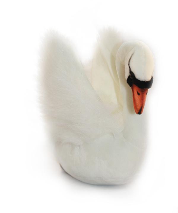 HANSA 2983 Белый лебедь, 32 см2983