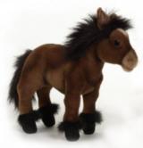 Мягкая игрушка Hansa Пони шоколадно-коричневый, 36 см3417Оригинальная мягкая игрушка Пони шоколадно-коричневый вызовет умиление и улыбку у каждого, кто ее увидит. Игрушка очень похожа на своего живого прототипа. Игрушка станет замечательным подарком, как ребенку, так и взрослому. Игрушки фирмы Hansa шьются и набиваются вручную, что позволяет достигнуть максимальной реалистичности образа. Данная игрушка выполнена из искусственного меха, специально обработанного для придания схожести с мехом конкретного вида животного. Глаза выполнены из пластика. Ноги лошадки гнутся и могут оставаться в таком положении, что делает игру более естественной. Уплотненная форма ног и тела, способствует развитию моторики рук ребенка. Великолепное качество исполнения делают эту игрушку чудесным подарком к любому празднику.