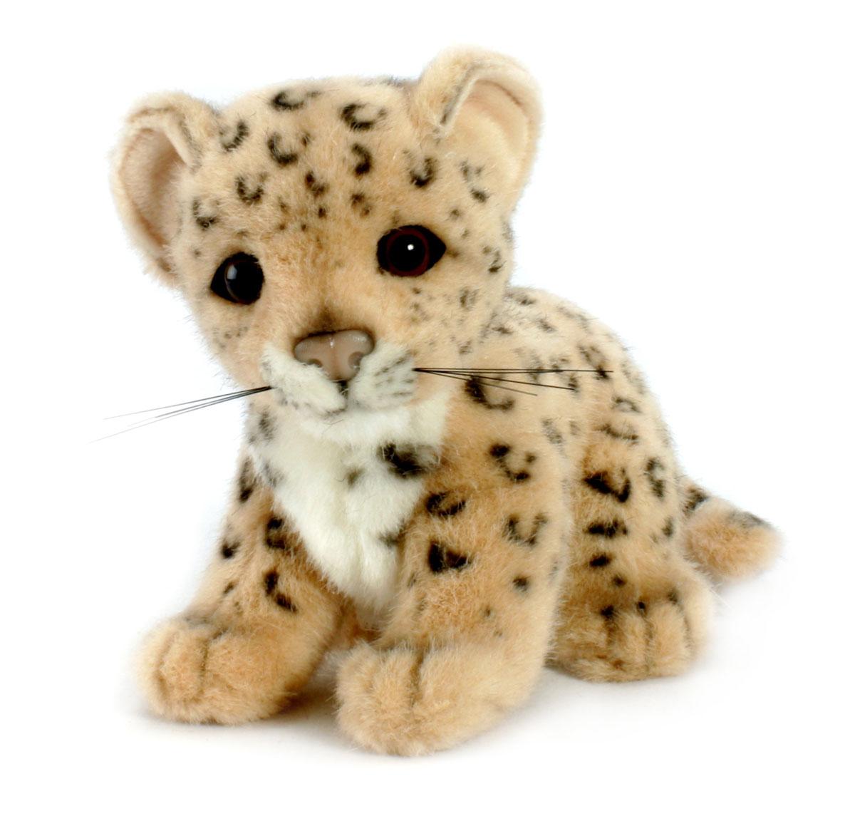 Мягкая игрушка Hansa Детеныш леопарда, 18 см3423Очаровательная мягкая игрушка Детеныш леопарда вызовет умиление и улыбку у каждого, кто ее увидит. Игрушка очень похожа на своего живого прототипа. Игрушка станет замечательным подарком, как ребенку, так и взрослому. Игрушки фирмы Hansa шьются и набиваются вручную, что позволяет достигнуть максимальной реалистичности образа. Данная игрушка выполнена из искусственного меха, специально обработанного для придания схожести с мехом конкретного вида животного. Глаза, усы и нос выполнены из пластика. Великолепное качество исполнения делают эту игрушку чудесным подарком к любому празднику. Интересная и симпатичная, она непременно вызовет улыбку у детей и взрослых.