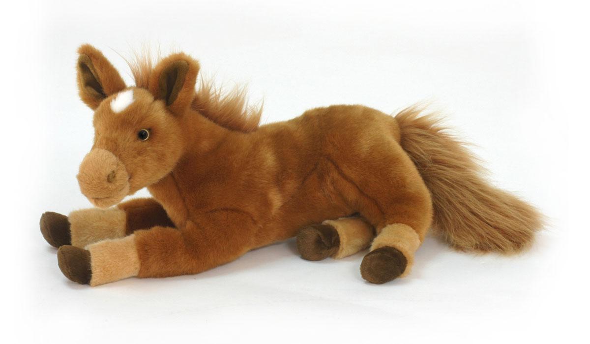 Мягкая игрушка Hansa Пони рыжий лежащий, 38 см5839Оригинальная мягкая игрушка Hansa Пони рыжий лежащий принесет радость и подарит своему обладателю мгновения нежных объятий и приятных воспоминаний. Эта плюшевая игрушка с самых ранних лет будет прививать ребенку любовь к живой природе. Игрушка очень похожа на своего живого прототипа. С ней не захочется расставаться. Ребенок будет с ней ходить повсюду и даже брать с собой спать в кроватку. Игрушки фирмы Hansa шьются и набиваются вручную, что позволяет достигнуть максимальной реалистичности образа. Данная игрушка выполнена из искусственного меха, специально обработанного для придания схожести с мехом конкретного вида животного. Глаза выполнены из пластика. Удивительно мягкий и приятный на ощупь пони. Пушистый хвост и грива делает его очень милым. Очаровательный плюшевый пони станет замечательным украшением детской комнаты или одним из экспонатов игрушечного мини-зоопарка. Во время игры родители могут рассказать ребенку много интересного о животных, и ребенок...