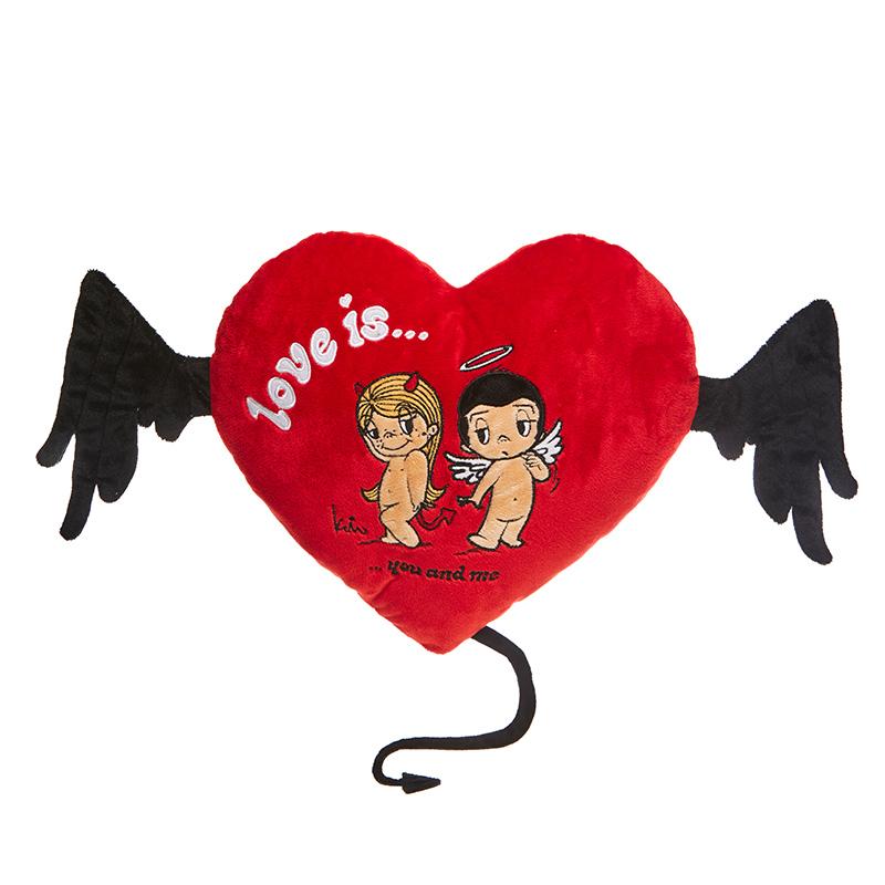 MAXITOYS Подушка-Сердце Love Is...MT-SUT101415