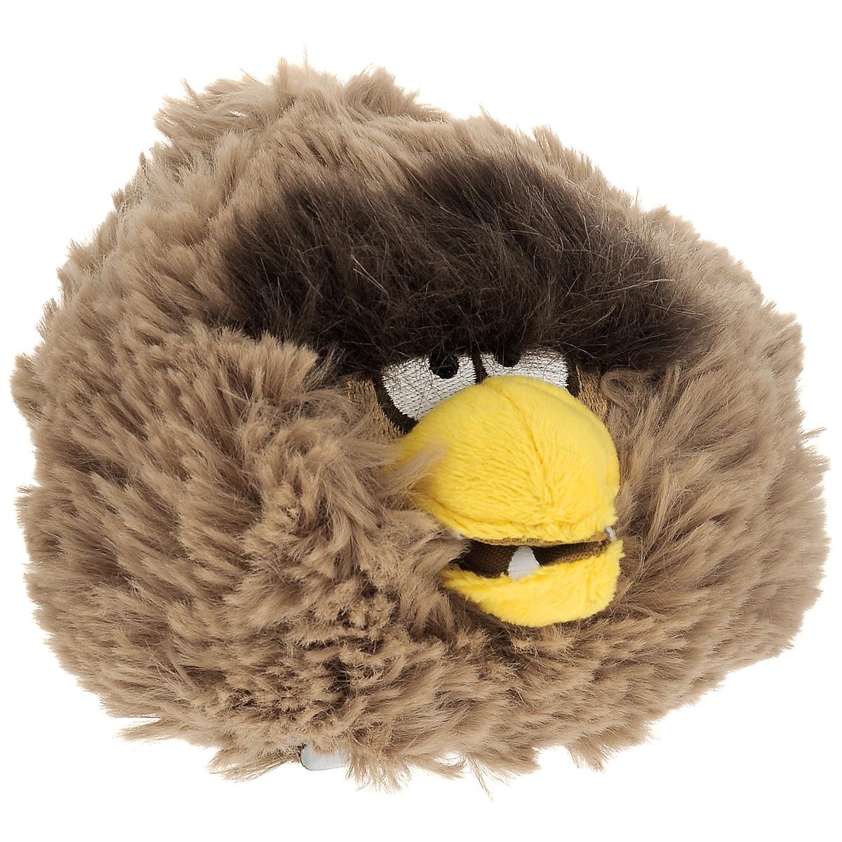 Мягкая игрушка Angry Birds Star Wars Чубакка, 12 см93231Плюшевая игрушка выполнена в виде Чубакки - персонажа игры Angry Birds Star Wars. Глазки героя вышиты нитками. Удивительно мягкая игрушка принесет радость и подарит своему обладателю мгновения нежных объятий и приятных воспоминаний.