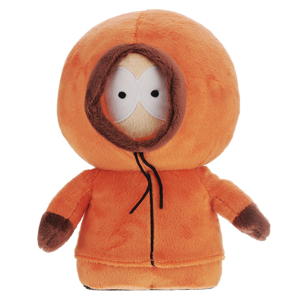 Мягкая озвученная игрушка South Park Кенни, 22 смТ57483Оригинальная мягкая игрушка выполнена в виде Кенни - персонажа американского мультсериала Южный парк(South Park). При нажатии на левую ладонь игрушки воспроизводится одна из 10 знаменитых фраз Кенни или песенка из мультсериала. Содержит ненормативную лексику. Мягкая озвученная игрушка South Park Кенни придется по душе поклоннику Южного парка! Южный парк - второй по длительности анимационный сериал в истории американского телевидения. Сериал выходит поздно вечером и позиционируется как мультфильм для взрослых. Рекомендуется докупить 3 батарейки напряжением 1,5V типа ААА (товар комплектуется демонстрационными).
