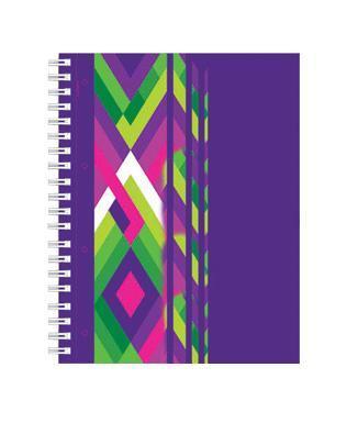 тетрадь А4 120л Диагонали, УФ-лак, жесткий ламинат (матовый), цвет: фиолетовый4601921376463фиолетовыйОтличная тетрадь подойдет как школьнику так и в повседневной жизни. Тетрадь сделана из качественной бумаги. Обложку украшает отличный принт.