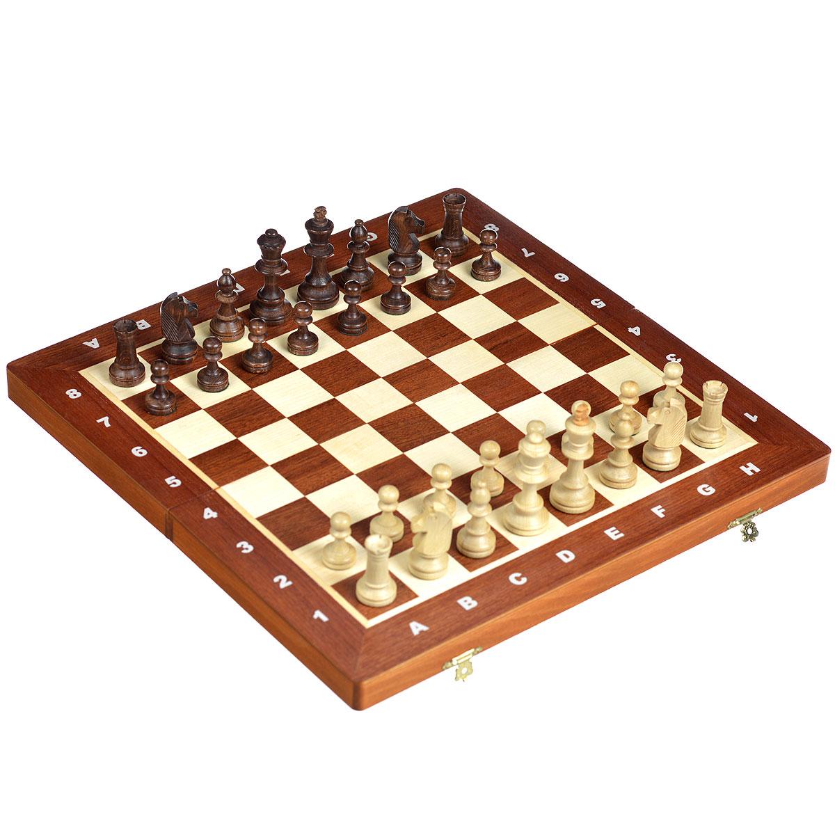 Шахматы Wegiel Торнамент - 4, размер: 42х21х5 см. 30133013