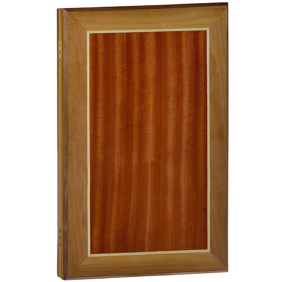 Нарды большие Квадрат, цвет: коричневый, размер: 58х37х5 см. 10011001