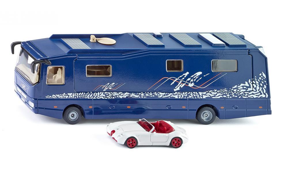 Siku Дом на колесах Volkner Mobil Performance1943Дом на колесах Siku Volkner Mobil Performance, несомненно, порадует каждого ребенка! Изделия отличаются высокой степенью детализации и тщательной проработкой всех элементов. Выполнены из металла с элементами из пластика и представлены в масштабе 1:50. Прорезиненные колеса имеют свободный ход. Игры с моделями способствуют развитию воображения, мышления, мелкой моторики рук и координации движений. Сделайте своему ребенку такой замечательный подарок!