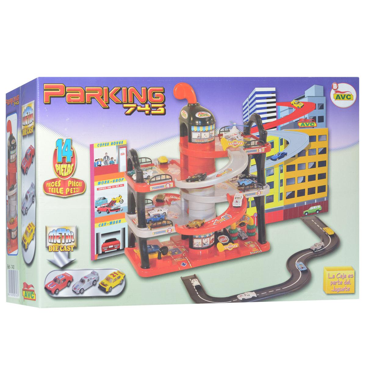 AVC Игровая парковка Parking 743 3 уровня