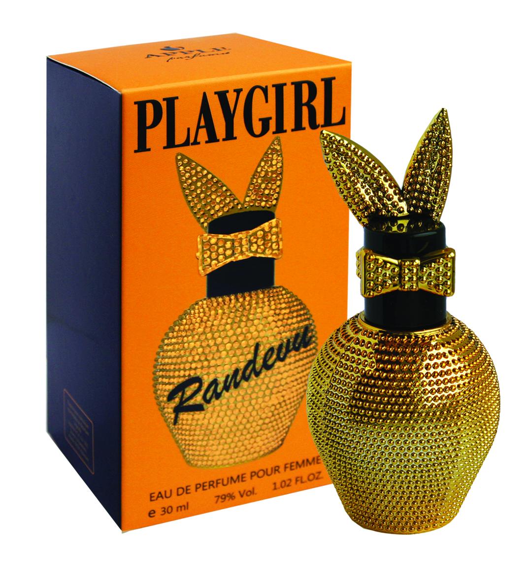 Apple Parfums Парфюмерная вода Playgirl Randevu, женская, 30 мл42560Этот роскошный, немного свежий, теплый, манящий, волнующий, насыщенный, дерзкий, стойкий, в меру сладкий фруктово-цветочный аромат с красивым шлейфом заставляет чувствовать себя уверенной и энергичной, придает сил справиться с любыми делами. Композиция состоит из малины, цветов апельсина, гардении, жасмина, белого меда и пачули. Парфюм можно носить и в дневное время, и как вечерний аромат, лучше всего раскрывается зимой и холодной осенью. Направление аромата: Цветочно- фруктовый. Основные ноты: цветы апельсина, жасмин, гардения, пачули, малина, медовый аккорд