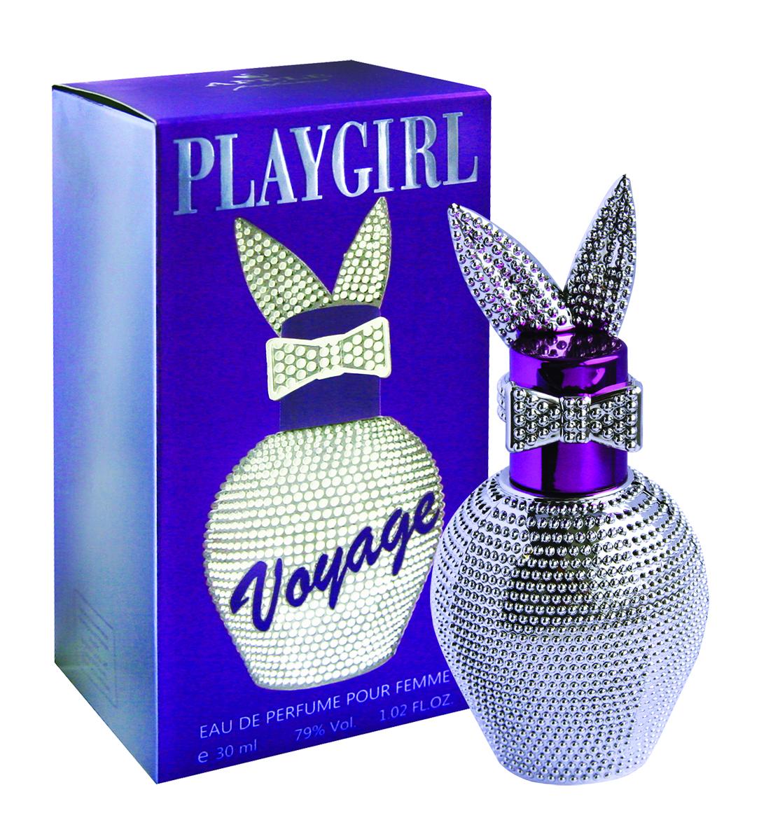 Apple Parfums Парфюмерная вода Playgirl Voyage, женская, 30 мл42561Аромат создан специально, чтобы очаровывать, властвовать и покорять. С первых же нот аромат пробуждает воображение и фантазию, захватывая разум и сердце в свои сладкие сети. Он очарователен, чувственен, красочен, роскошен, полон эмоций и ощущений, как вся наша жизнь. Ошеломляющий аромат, мгновенно овладевающий всем вашим существом, неотразимый и прекрасный, как сама жизнь. Обманчивая простота легкого и свежего аромата символизирует юность и наслаждение жизнью. Чарующий женский парфюм, в верхних нотах которого чувствуется живость сицилианского лимона, жизненная сила яблок, приятная простота колокольчиков. Направление аромата: Свежий, цветочный. Основные ноты: цитрусы, лимон, колокольчик, зеленое яблоко, жасмин , белая роза, кедр