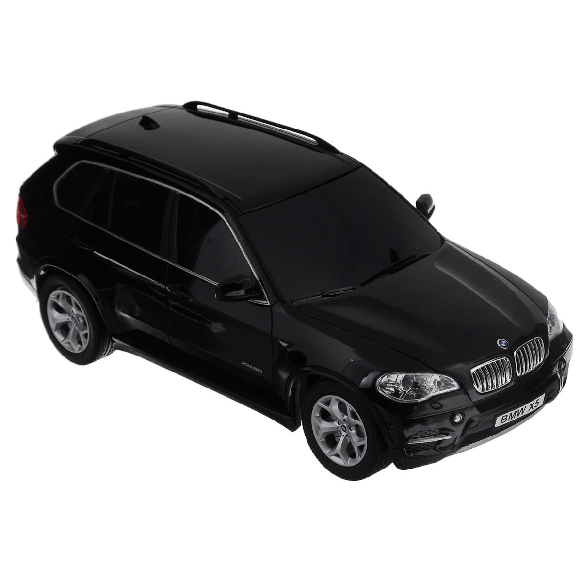 TopGear Радиоуправляемая модель BMW X5 цвет черный масштаб 1: 18