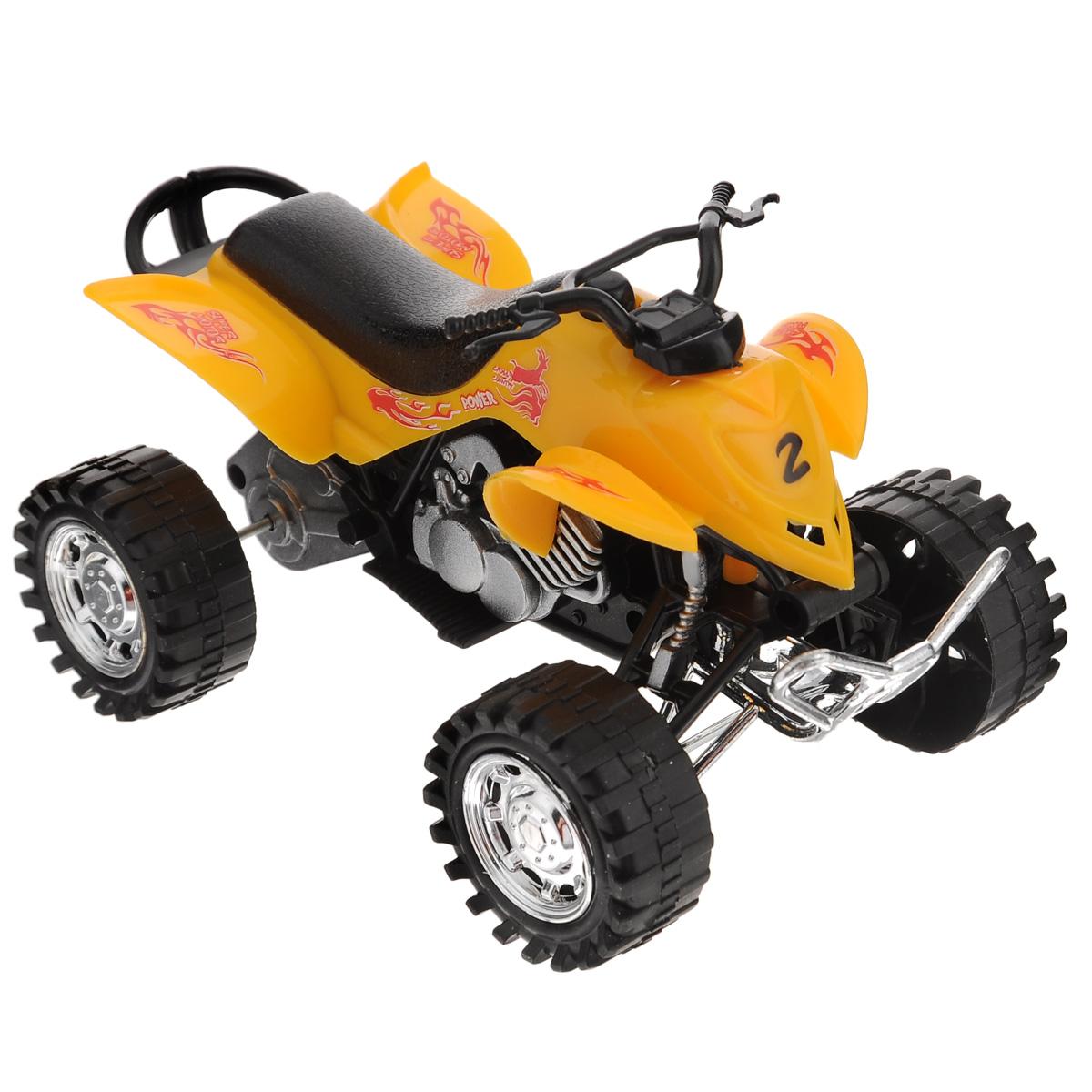 Dream Makers Квадроцикл инерционный цвет желтый6297-17желтый