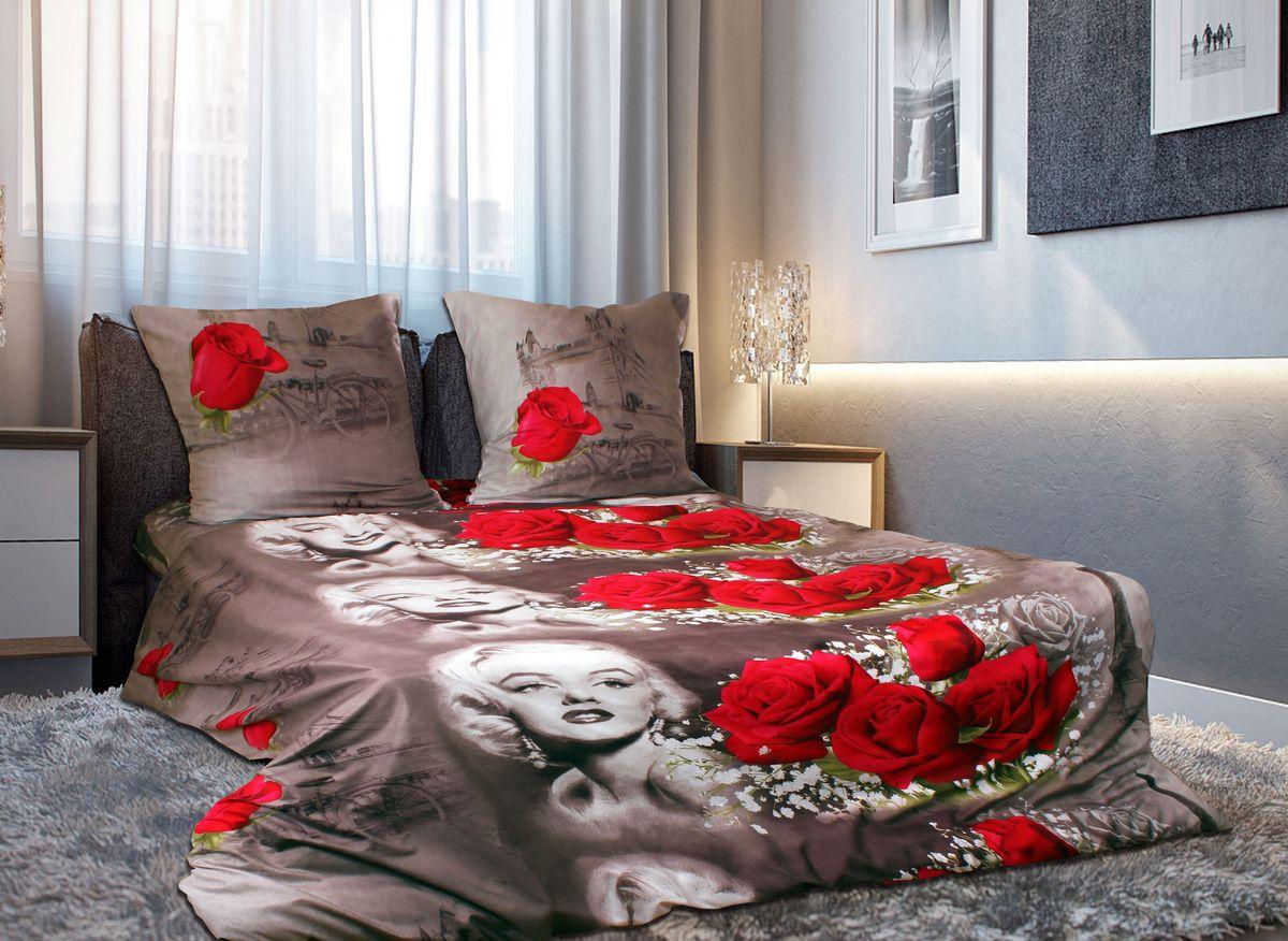 Комплект белья 3D Amore Mio ET Romantica, 2-спальный, наволочки 70х70, цвет: белый, красный, коричневый. 7491074910Комплект постельного белья Amore Mio ET Romantica является экологически безопасным для всей семьи, так как выполнен из мако-сатина. Комплект состоит из пододеяльника, простыни и двух наволочек. Постельное белье оформлено оригинальным 3D рисунком и имеет изысканный внешний вид. Мако-сатин - свежее решение для уюта на даче или дома, созданное с любовью для вашего комфорта и отличного настроения! Нано-инновации позволили открыть новую ткань, полученную в результате высокотехнологического процесса, которая сочетает в себе широкий спектр отличных потребительских характеристик и невысокой стоимости. Легкая, плотная, мягкая ткань отлично стирается, гладится, быстро сохнет. Дисперсное крашение великолепно передает качество рисунков и необычайно устойчиво к истиранию. Процесс ворсования поверхности придает полотну дополнительную нежность шелка и дарит необычайно сладкую негу тактильных удовольствий.