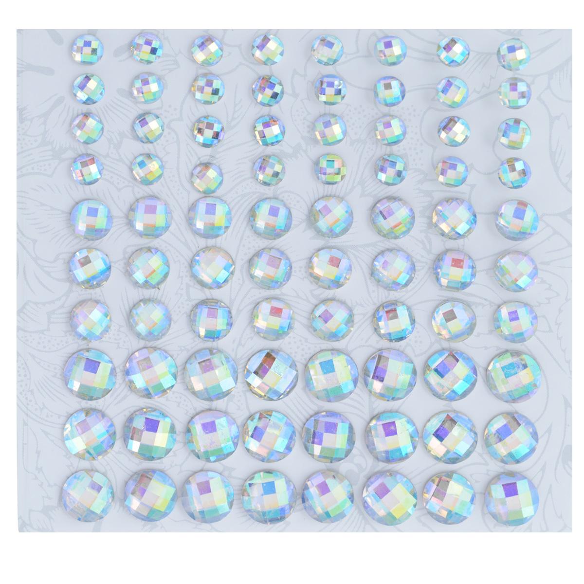 Наклейки декоративные Астра, цвет: перламутровый, 80 шт. 77083667708366Декоративные наклейки Астра, изготовленные из пластика, прекрасно подойдут для оформления творческих работ в технике скрапбукинга. Их можно использовать для украшения фотоальбомов, скрап-страничек, подарков, конвертов, фоторамок, открыток и т.д. Объемные наклейки круглой формы с рельефной поверхностью оснащены задней клейкой стороной. Скрапбукинг - это хобби, которое способно приносить массу приятных эмоций не только человеку, который этим занимается, но и его близким, друзьям, родным. Это невероятно увлекательное занятие, которое поможет вам сохранить наиболее памятные и яркие моменты вашей жизни, а также интересно оформить интерьер дома. Диаметр наклеек: 6 мм, 8 мм, 10 мм.