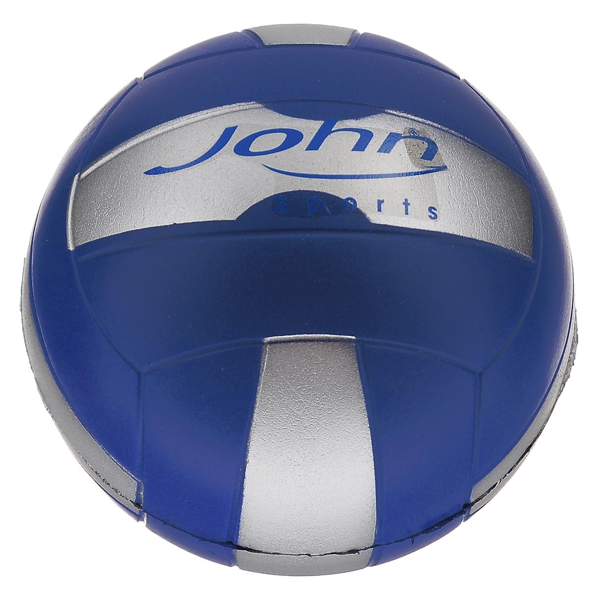 Мяч John Спорт, цвет: синий, серый, 10 см56630_синий-серыйМяч John Спорт прекрасно подойдет для игр на свежем воздухе и в зале. Изготовлен из мягкого полиуретана, обладает отличными игровыми качествами. Спортивные игры развивают ловкость, силу, глазомер и быстроту реакции. Порадуйте своего непоседу таким замечательным подарком!