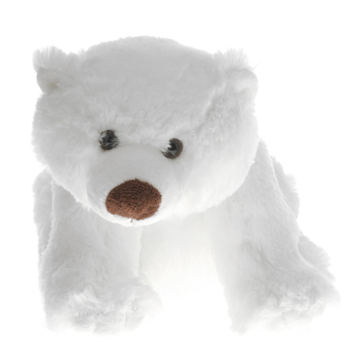Gulliver Мягкая игрушка Белый мишка Умка, 24 см18-3167-1Симпатичная мягкая игрушка Gulliver Белый мишка Умка не оставит равнодушным ни ребенка, ни взрослого и вызовет улыбку у каждого, кто ее увидит. Необычайно мягкий и пушистый, этот очаровательный белый мишка принесет радость и подарит своему обладателю мгновения нежных объятий и приятных воспоминаний. Игрушка удивительно приятна на ощупь, сделана очень реально и правдоподобно. Получив в подарок такого медведя, малыш сможет попасть в занимательное приключение, с весьма любопытным и наивным детенышем медведя.