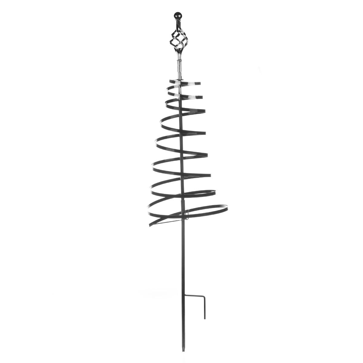 Спиральная поддержка Green Apple GTSQNN, 50 смGTSQNNОпора-спираль используется для поддержки как садовых, так и комнатных растений. Благодаря своей спиралевидной форме опора обеспечивает поддержку без подвязывания растения.