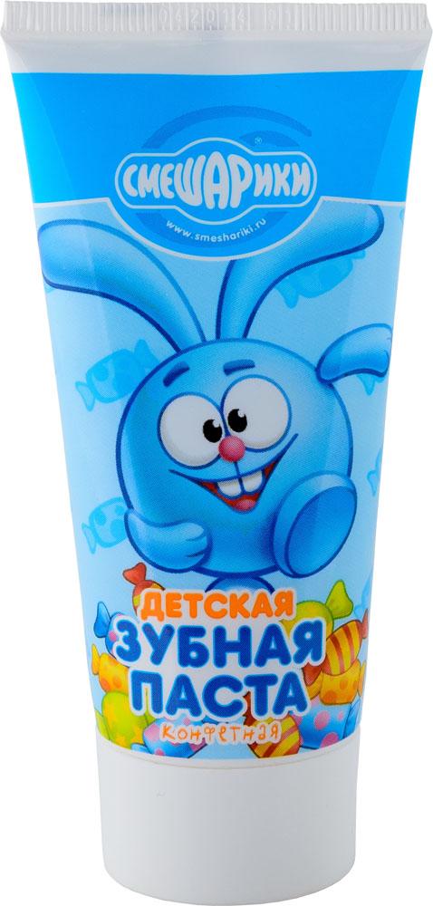 Смешарики Детская зубная паста Конфетная, 50 мл