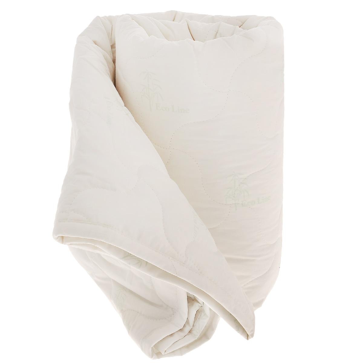 Одеяло La Prima Бамбук, наполнитель: бамбук, полиэфирное волокно, цвет: бежевый, 140 см х 205 см1011/0222814/100Одеяло La Prima Бамбук - лучшим выбором для комфортного и здорового сна и отдыха. Чехол выполнен из 100% хлопка - тика ECO Line. Наполнитель - бамбуковое волокно. Бамбуковое волокно - натуральный растительный наполнитель, обеспечивающий комфорт и здоровый сон. Уникальная пористая структура волокна позволяет свободно дышать - создает эффект свежести во время сна. Одеяло обладает естественными антибактериальными свойствами, успокаивает и восстанавливает во время сна, гипоаллергенно. Материал чехла: 100% хлопок. Наполнитель: 40% бамбук, 60% полиэфирное волокно. Размер: 140 см х 205 см.