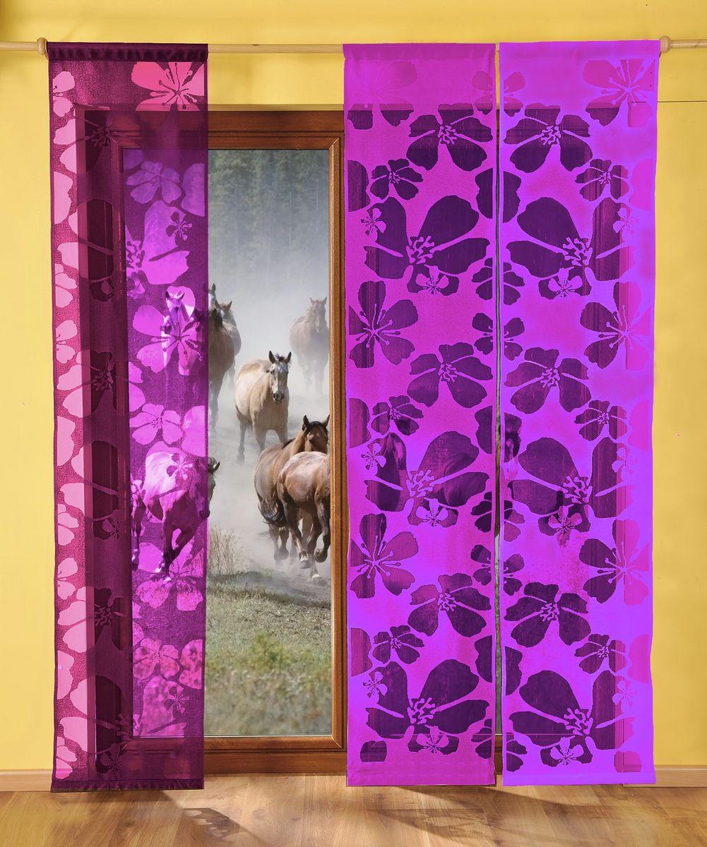 Гардина-панно WISAN 50*240. 9897 фиолет9897 фиолетГардина-панно WISAN 50*240. 9897 фиолет Материал: 100% п/э, размер: 50*240, цвет: фиолетовый