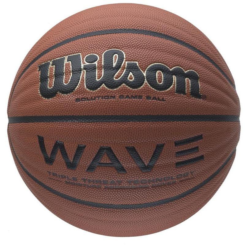 "Wilson Мяч Wilson ""Wave Game Ball"", цвет: коричневый"