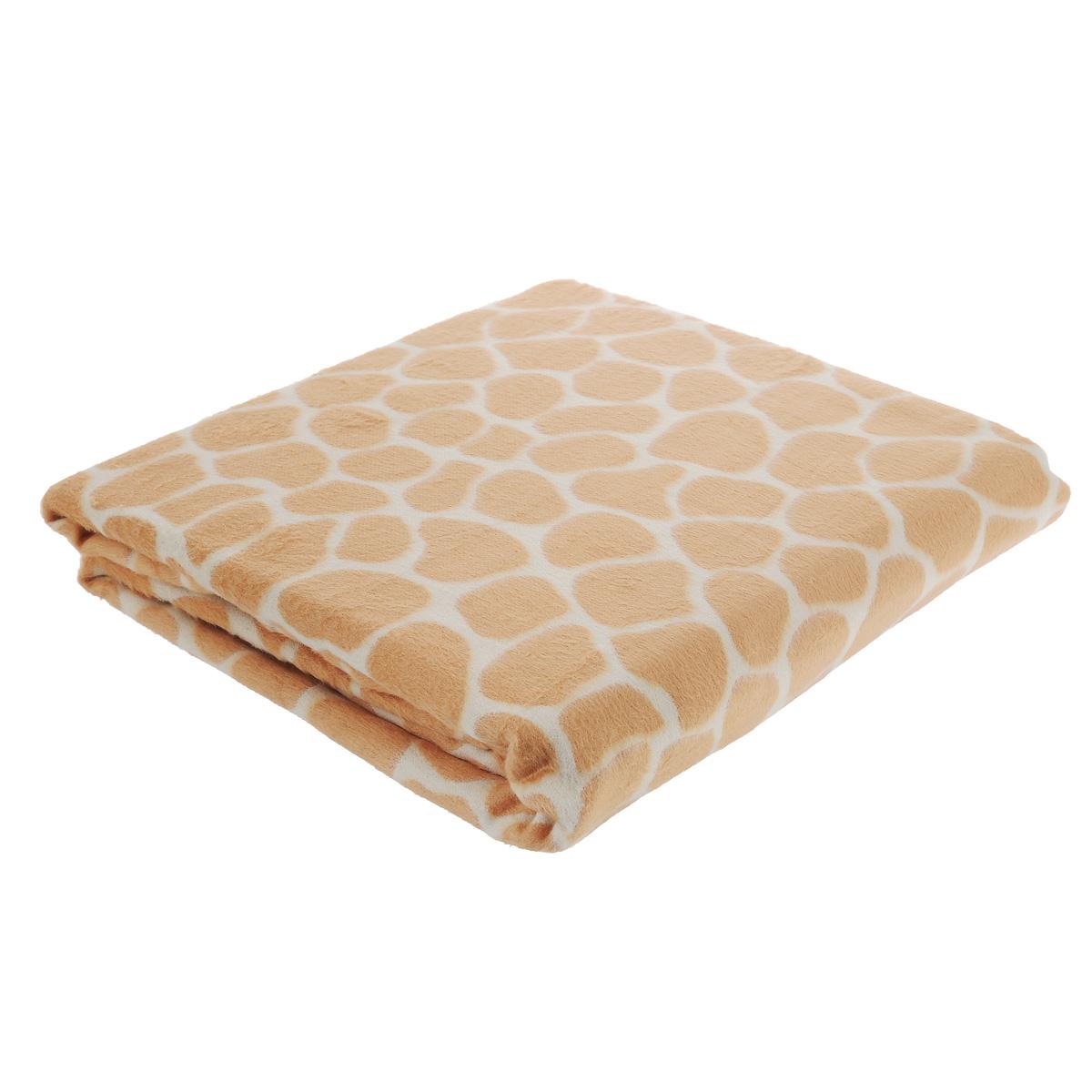 Плед бамбуковый Леди прима Жираф, цвет: карамельный, 160 см х 180 см1105/0006042/2007Все чаще дизайнеры украшают интерьеры домашним текстилем, несущим энергию природного спокойствия и умиротворения. Уютный плед Леди прима Жираф выполнен из 100% бамбука. Плед с карамельным принтом под жирафа подсознательно перенесет вас в далекую Африку. Этот плед роскошное воплощение мягкости, нежности и элегантности. Натуральная палитра цветов приближает нас к природному совершенству. Бамбуковый плед Леди прима Жираф - это настроение и стиль вашей спальни!