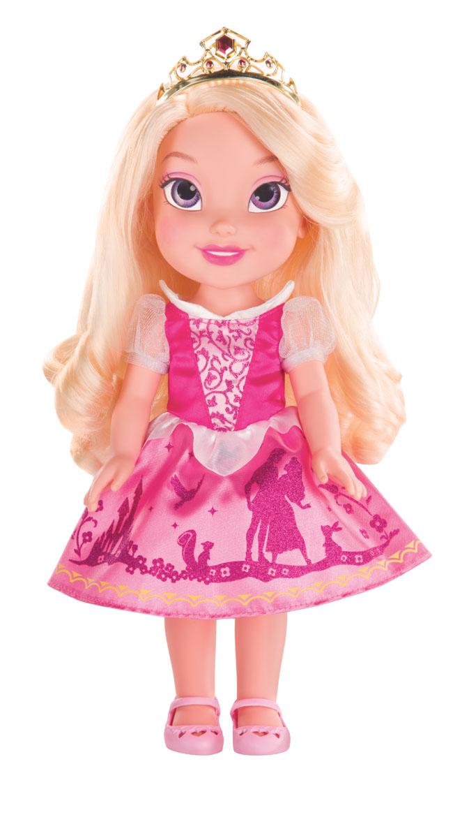Кукла Disney Princess My First Disney Princess: Малышка Аврора , 35 см750050_AuroraКукла Disney Princess Малышка Аврора - прекрасная принцесса, которая обязательно понравится вашей дочурке. Туловище куклы выполнено из высококачественного пластика; голова, ручки и ножки подвижны. Принцесса одета в красивое платье, точь-в-точь как на героине из мультфильма. На ножках туфельки. Кукла имеет длинные шелковистые волосы, которые можно заплетать в различные прически. На голове - королевская тиара. Главная особенность куклы - большие глаза, которые блестят как настоящие. Глазки изготовлены по запатентованной технологии Eyes Reflection. Такая куколка очарует вас и вашу дочурку с первого взгляда! Ваша малышка с удовольствием будет играть с принцессой, проигрывая сюжеты из мультфильма или придумывая различные истории. Порадуйте свою дочурку таким замечательным подарком!