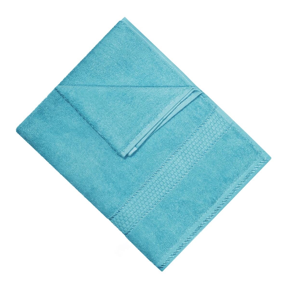 Полотенце махровое Osborn Textile, цвет: бирюзовый, 50 х 90 смУзТ-МПМ-004-01-07В состав полотенца Osborn Textile входит только натуральное волокно - хлопок. Лаконичные бордюры подойдут для любого интерьера ванной комнаты. Полотенце прекрасно впитывает влагу и быстро сохнет. При соблюдении рекомендаций по уходу не линяет и не теряет форму даже после многократных стирок. Плотность: 450 г/м2.