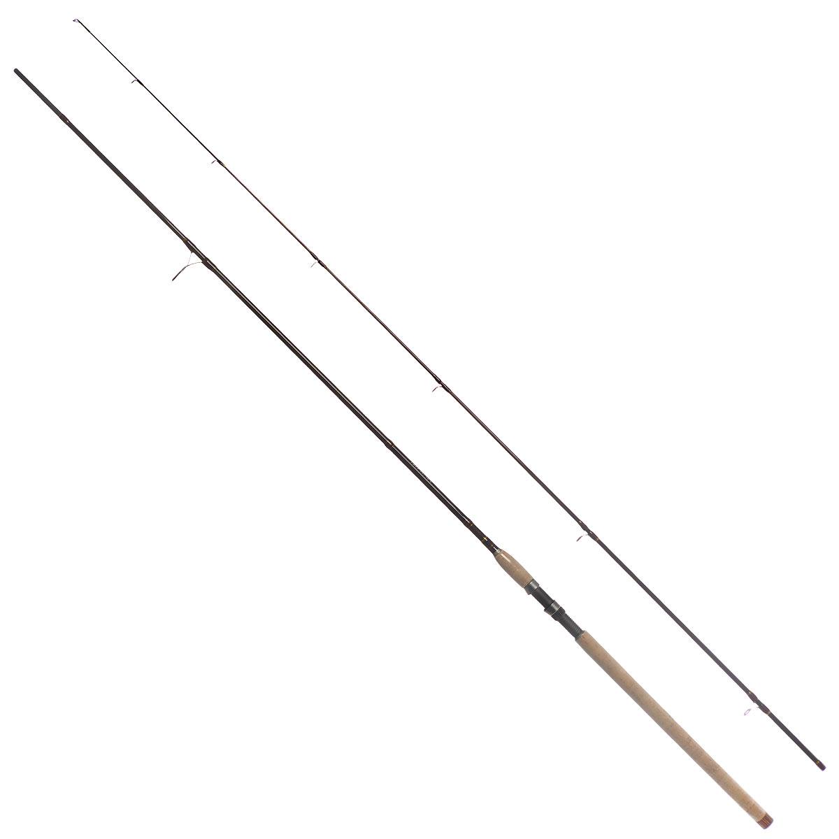 Удилище спиннинговое Daiwa New Exceler, штекерное, цвет: темно-коричневый, 2,7 м, 50-100 г