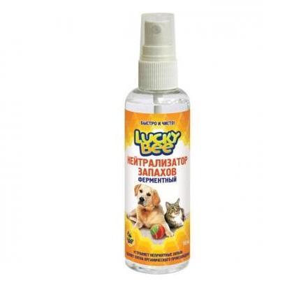 Ферментный нейтрализатор запахов (животных) Lucky Bee, 150 мл