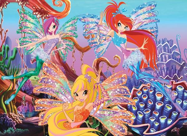Пазлы Винкс Морской риф, 260 элементовB-PU26259-WПазлы Castorland это - высокий уровень полиграфии, четкие и красочные цвета, продуманные иллюстрации, уникальность формы каждой детали, разнообразие тематик