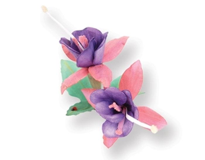 Форма для вырубки Sizzix  Цветок Фуксия, 9 лепестков. 658858658858С помощью форм для вырубки Sizzix можно создать аппликации в виде красивого цветка Фуксии. Формы для вырубки - это определенной формы ножи, обеспечивающие форму вырубной фигуры. Они режут бумагу, картон и ткань. Формы станут незаменимыми при создании скрап-страничек, открыток и конвертов с резными декоративными фигурками и ажурными украшениями. Формы для вырубки разнообразят вашу работу и добавят вдохновения для новых идей. Формы подходят для машинки для вырубки и эмбоссирования Big Shot.
