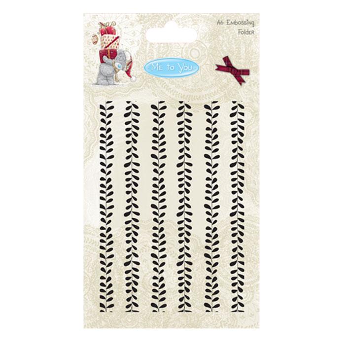 Форма для эмбоссирования Trimcraft Me To You Christmas, 15 х 10,5 смMTYXEF001Форма для эмбоссирования Trimcraft Me To You Christmas выполнена из пластика и оформлена витиеватыми узорами. Эмбоссирование - это процесс нанесения рельефного рисунка или узора на ткань или бумагу. Эмбосированная ткань смотрится оригинально и прекрасно подойдет для декора и оформления творческих работ в различных техниках, таких как скрапбукинг, декор, оформление бижутерии, бантиков, украшение подарочных конвертов, открыток и т.д. Такие формы разнообразят вашу работу и добавят вдохновения для новых идей. Формы подходят для машинки для вырубки и эмбоссирования Big Shot. Создавайте оригинальные композиции и украшайте свои творческие задумки! Формат формы: А6. Размер формы: 15 см х 10,5 см.