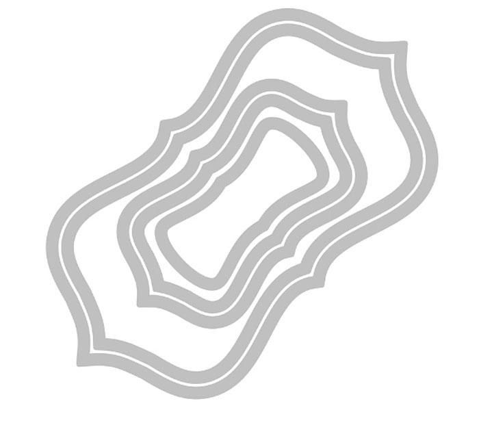 Форма-трафарет для вырубки Sizzix Дерзкие круги и рамки, 5 шт658793С помощью форм-трафаретов для вырубки Sizzix Дерзкие круги и рамки можно создать оригинальные фигуры. Формы для вырубки - это определенной формы ножи, обеспечивающие форму вырубной фигуры. В комплект входит 5 форм-трафаретов, выполненных из металла. Они режут бумагу, картон и ткань. Формы станут незаменимыми при создании скрап-страничек, открыток и конвертов с резными декоративными фигурками и ажурными украшениями. Формы для вырубки разнообразят вашу работу и добавят вдохновения для новых идей. Формы подходят для машинки для вырубки и эмбоссирования Big Shot. Создавайте оригинальные композиции и украшайте свои творческие задумки! Размер наибольшей формы: 15,3 см х 8,2 см. Размер наименьшей формы: 6 см х 3 см.