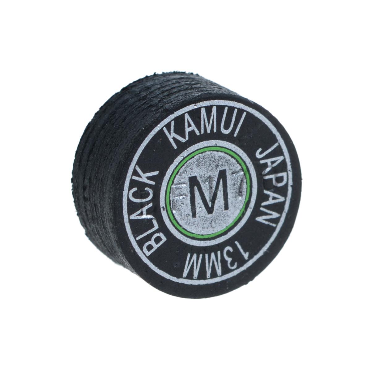 Наклейка для кия Kamui Black, средняя жесткость, 13 мм03101Почему игроки выбирают наклейки KAMUI: Повышенная устойчивость к влажности. Кожа для наклеек KAMUI проходит этап растительного дубления. Это позволяет сделать кожу более эластичной и прочной по сравнению, например, с кожей, которая прошла этап хромового дубления. Тем не менее, после растительного дубления кожа имеет тенденцию поглощать влагу, которая уменьшает как прочность, так и эластичность кожи. Именно поэтому KAMUI проводит дополнительный, специальный, этап дубления кожи, после которого кожа сохраняет прочность и эластичность. Как результат - наклейки KAMUI не изменяют своих игровых свойств даже в средах с повышенной влажностью. Уменьшение эффекта грибной шляпки. Появление у наклейки формы грибной шляпки связано с отсутствием достаточной прочности у наклейки при ударе по шарам. Эта шляпка не позволит игроку сделать точный, аккуратный удар. Во время дубления кожи для наклеек KAMUI процесс останавливается именно в тот момент, ...