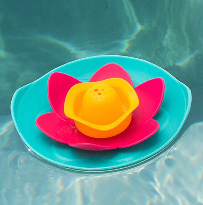 Игрушка для ванны Quut Lili. Цветочек170471Набор «Плавающий цветок Лили» превратит вашу ванну в сказочный пруд. Прозрачная крышка станет волшебным окном, сквозь которое можно наблюдать за тем, что происходит под мыльной пеной. Все четыре детали собираются вместе, их удобно хранить и легко мыть.
