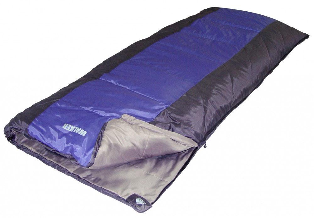 Спальник TREK PLANET Walker, правосторонняя молния, цвет: серый70360 (н)-RКомфортный, просторный и очень теплый спальник-одеяло Trek Planet Walker предназначен для походов и для отдыха на природе как в летнее время, так и в весенне-осенний период. Также спальный мешок можно использовать как обычное одеяло. Особенности спальника: 4-канальный наполнитель Hollow Fiber. Двухсторонняя молния. Термоклапан вдоль молнии. Внутренний карман. Возможно состегивание спальников между собой (левая и правая молнии). К спальнику прилагается компрессионный чехол для удобного хранения и переноски. Характеристики: Внешний материал: 100% полиэстер. Внутренний материал: 100% полиэстер. Утеплитель: Hollow Fiber 4Н 2x125 г/м2. Размер спальника: 200 см х 85 см. Вес: 1,6 кг.