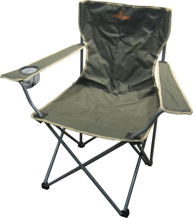 Кресло складное Woodland Holiday, 52 см х 52 см х 89 см0036496Складное кресло Woodland Holiday предназначено для создания комфортных условий в туристических походах, охоте, рыбалке и кемпинге. Особенности: Компактная складная конструкция. Прочный стальной каркас с покрытием, диаметр 16 мм. Выполнено из прочного ПВХ с водоотталкивающим покрытием Oxford 600D.
