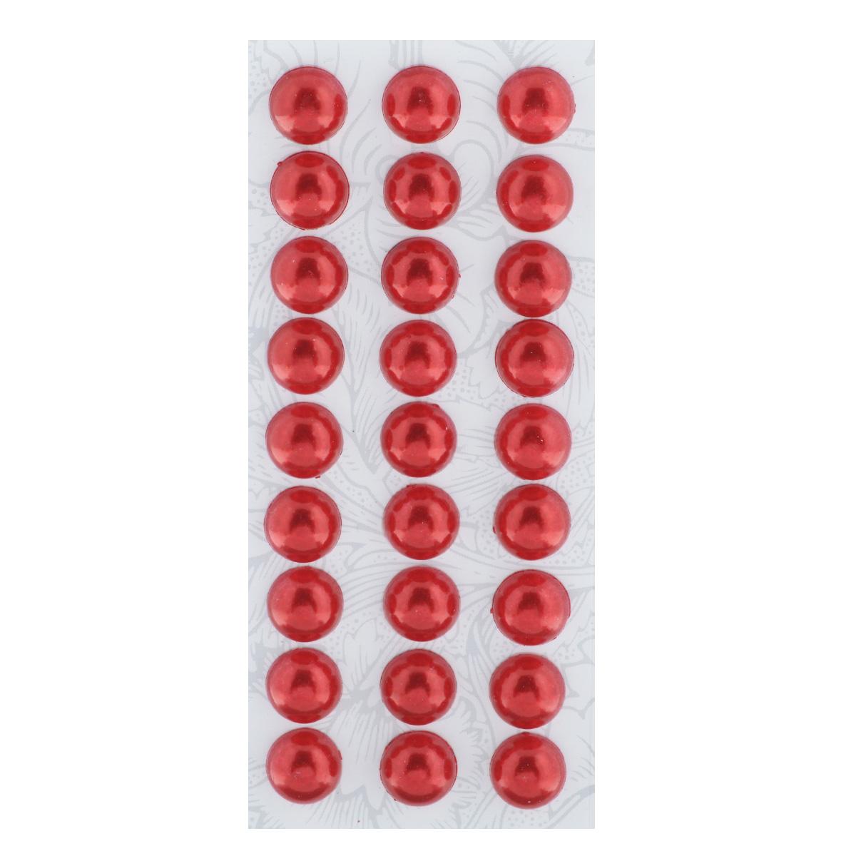 Наклейки декоративные Астра, цвет: красный (1), диаметр 10 мм, 27 шт7704129_1Декоративные наклейки Астра, изготовленные из пластика, прекрасно подойдут для оформления творческих работ в технике скрапбукинга. Их можно использовать для украшения фотоальбомов, скрап-страничек, подарков, конвертов, фоторамок, открыток и т.д. Объемные наклейки круглой формы оснащены задней клейкой стороной. Скрапбукинг - это хобби, которое способно приносить массу приятных эмоций не только человеку, который этим занимается, но и его близким, друзьям, родным. Это невероятно увлекательное занятие, которое поможет вам сохранить наиболее памятные и яркие моменты вашей жизни, а также интересно оформить интерьер дома. Диаметр наклейки: 10 мм.