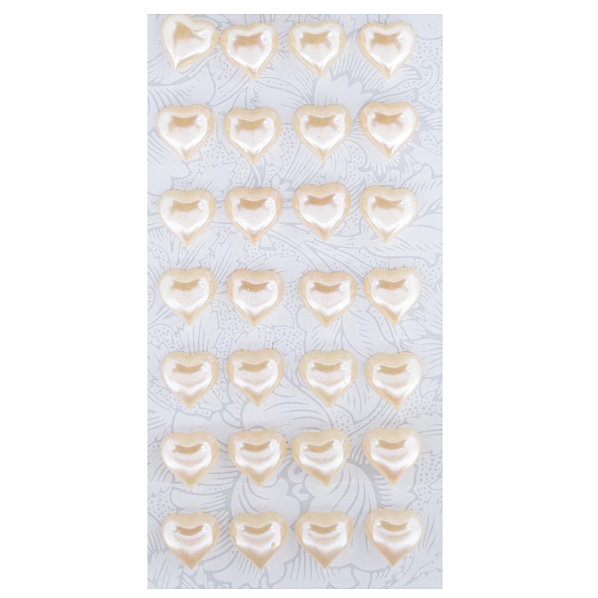 Наклейки декоративные Астра, цвет: бежевый (16), 12 мм х 12 мм, 28 шт7704132_16Декоративные наклейки Астра, изготовленные из пластика, прекрасно подойдут для оформления творческих работ в технике скрапбукинга. Их можно использовать для украшения фотоальбомов, скрап-страничек, подарков, конвертов, фоторамок, открыток и т.д. Объемные наклейки, выполненные в форме сердец, оснащены задней клейкой стороной. Скрапбукинг - это хобби, которое способно приносить массу приятных эмоций не только человеку, который этим занимается, но и его близким, друзьям, родным. Это невероятно увлекательное занятие, которое поможет вам сохранить наиболее памятные и яркие моменты вашей жизни, а также интересно оформить интерьер дома. Размер наклейки: 12 мм х 12 мм.