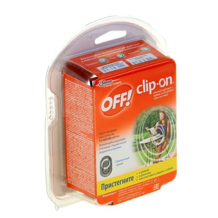 О FF Clip-On прибор с фен-системой и сменным картриджем, 100 мл