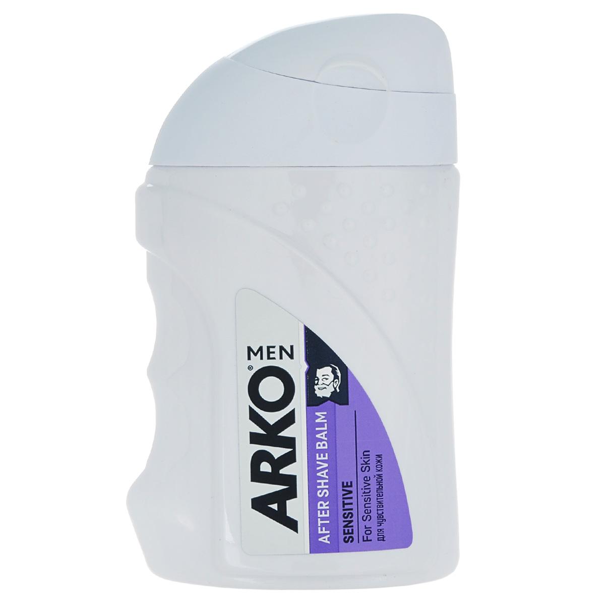 Arko MEN Бальзам после бритья Sensitive 150мл800537572защищает Вашу кожу от эффекта сухости, вызванного бритьем и оставляет долгое ощущение комфорта