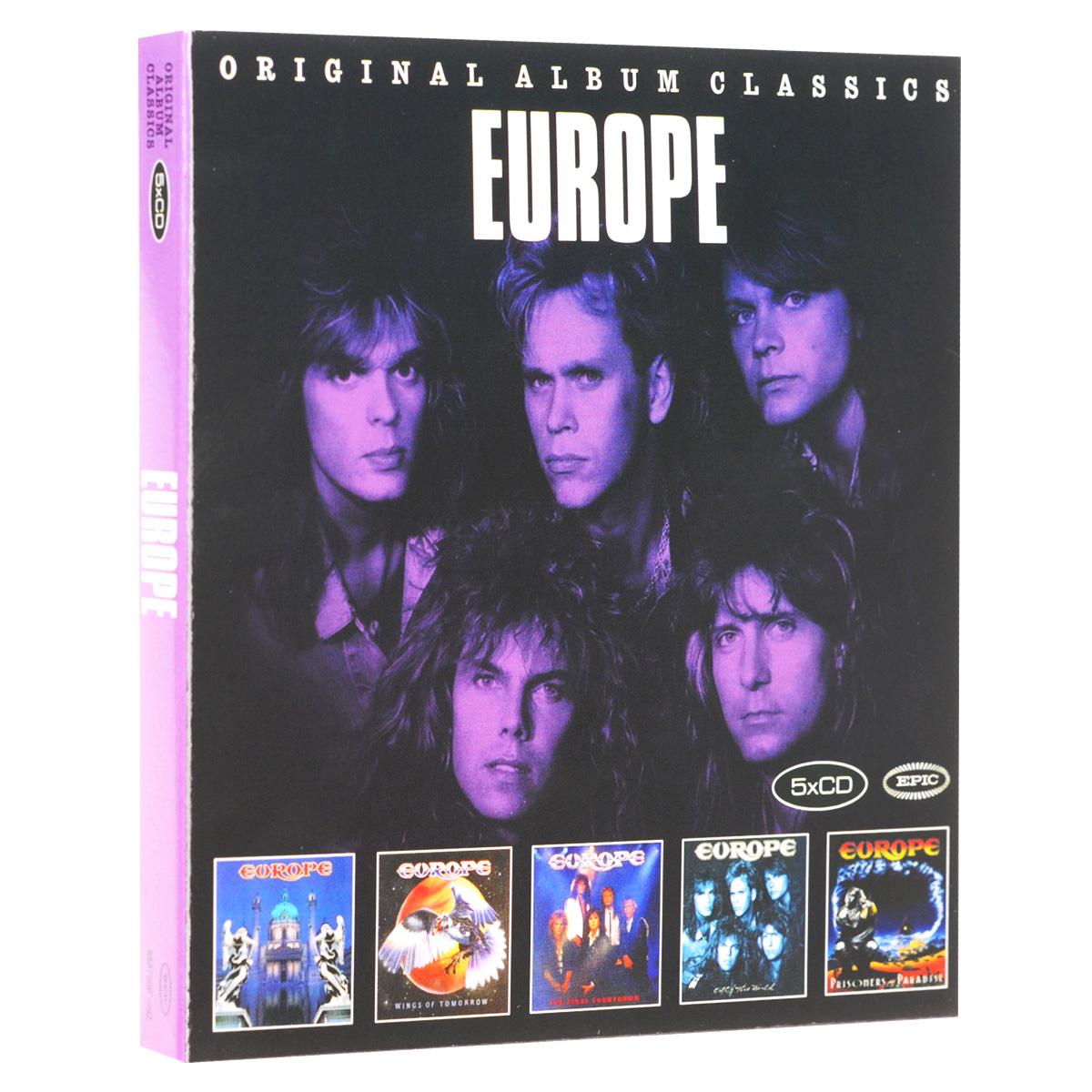 Europe. Original Album Classics (5 CD)