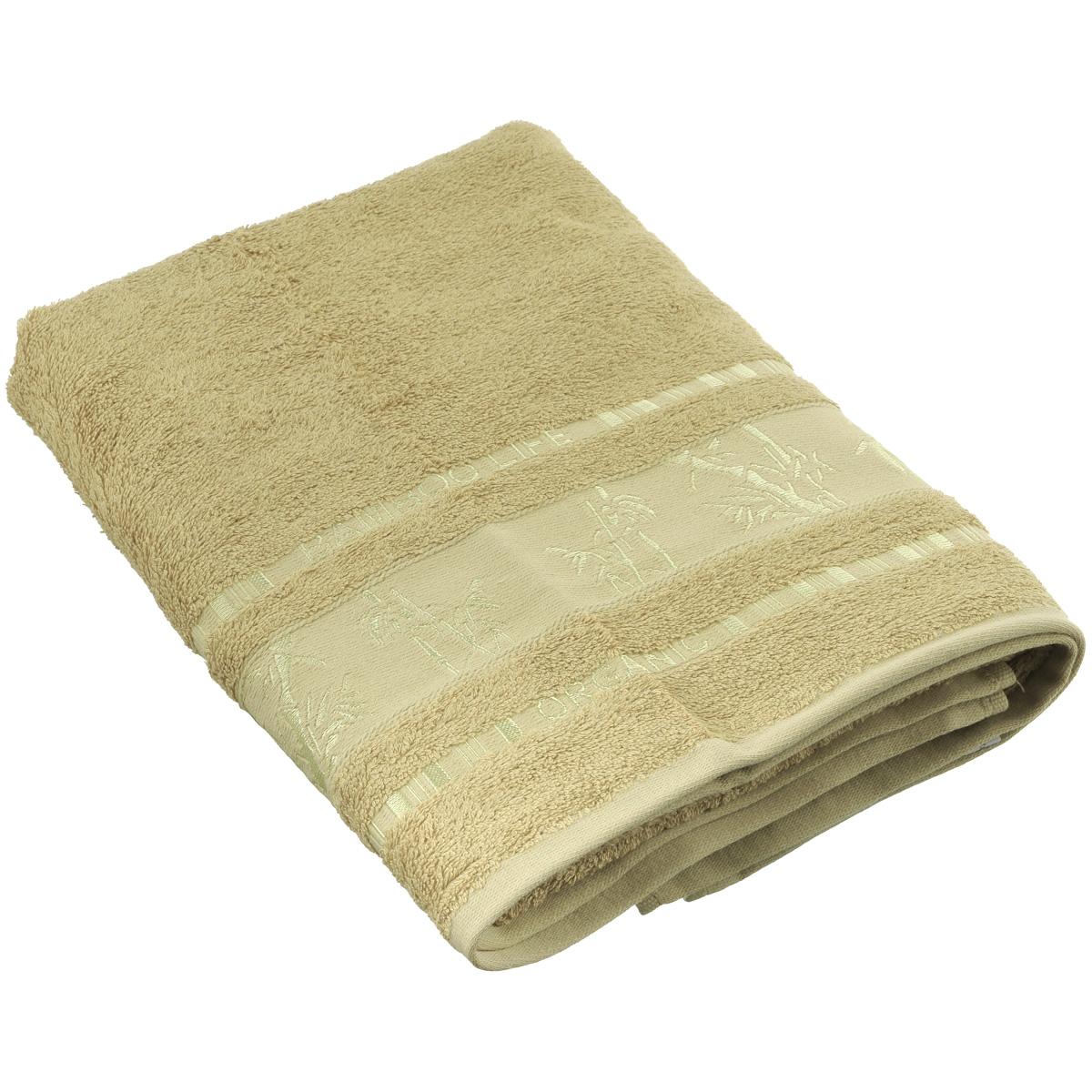 Полотенце Mariposa Bamboo, цвет: желтый, 70 см х 140 см52926Полотенце Mariposa Bamboo, изготовленное из 60% бамбука и 40% хлопка, подарит массу положительных эмоций и приятных ощущений. Полотенца из бамбука только издали похожи на обычные. На самом деле, при первом же прикосновении вы ощутите невероятную мягкость и шелковистость. Таким полотенцем не нужно вытираться - только коснитесь кожи - и ткань сама все впитает! Несмотря на богатую плотность и высокую петлю полотенца, оно быстро сохнет, остается легким даже при намокании. Полотенце оформлено изображением бамбука. Благородный тон создает уют и подчеркивает лучшие качества махровой ткани. Полотенце Mariposa Bamboo станет достойным выбором для вас и приятным подарком для ваших близких. Размер полотенца: 70 см х 140 см.